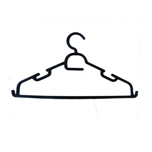 Clothes Plastic Hanger With Hook